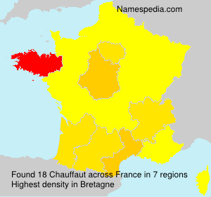 Surname Chauffaut in France