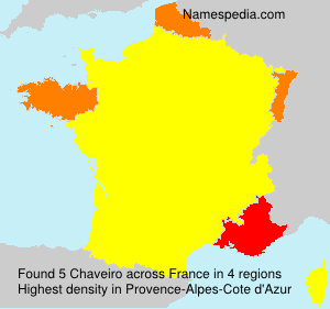 Surname Chaveiro in France