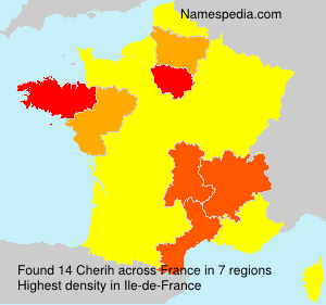 Surname Cherih in France