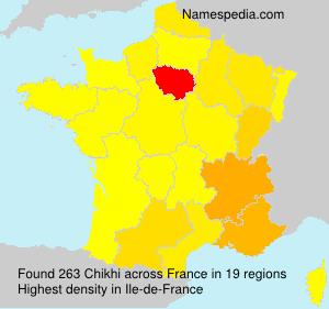 Familiennamen Chikhi - France