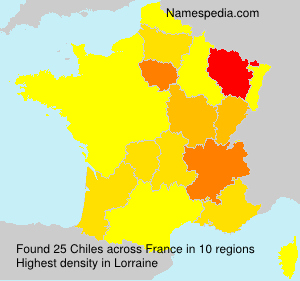 Surname Chiles in France