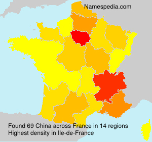 Surname China in France