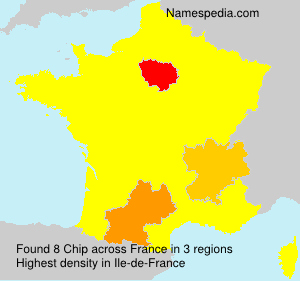 Surname Chip in France