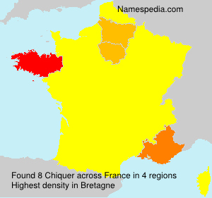 Surname Chiquer in France
