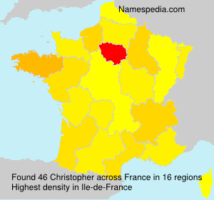 Surname Christopher in France