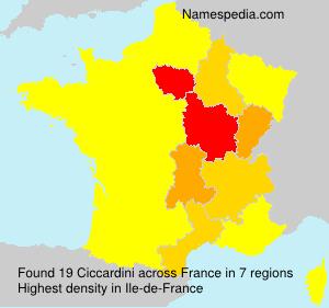 Ciccardini - France