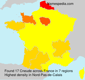 Surname Cneude in France