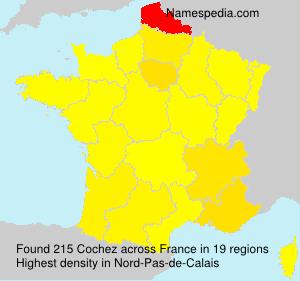 Surname Cochez in France