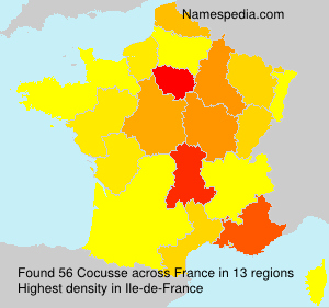 Surname Cocusse in France