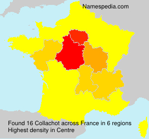 Surname Collachot in France