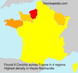 Surname Conchis in France
