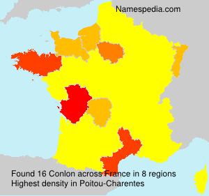 Surname Conlon in France