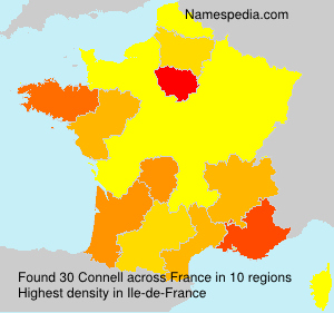 Surname Connell in France