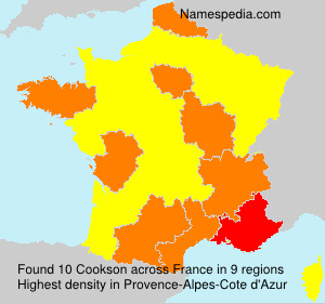Surname Cookson in France