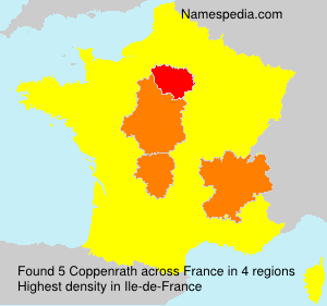 Surname Coppenrath in France