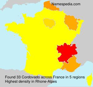 Surname Cordovado in France