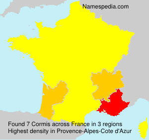 Surname Cormis in France