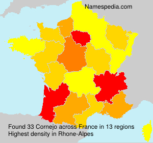 Surname Cornejo in France