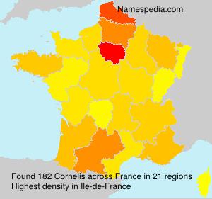 Surname Cornelis in France