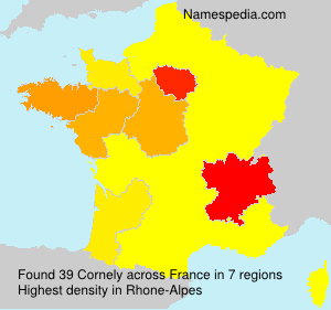 Surname Cornely in France