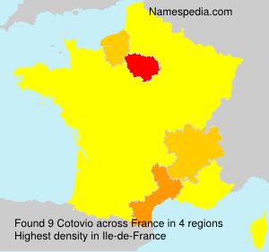 Surname Cotovio in France