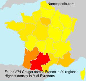 Surname Couget in France
