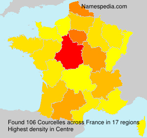 Surname Courcelles in France