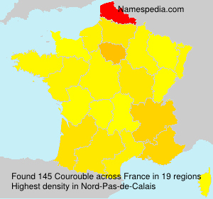 Surname Courouble in France