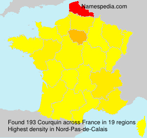 Surname Courquin in France