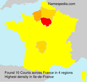 Surname Courta in France