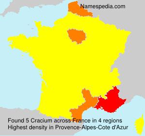 Cracium - France