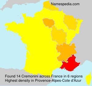 Surname Cremonini in France