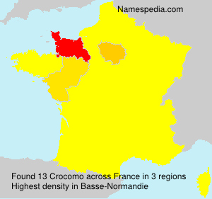 Surname Crocomo in France