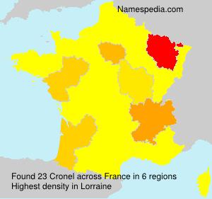Cronel - France