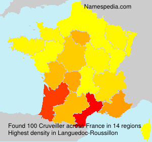 Surname Cruveiller in France