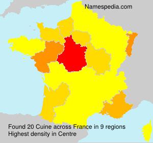 Cuine names encyclopedia for Cuine