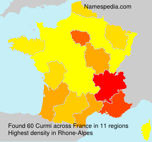 Surname Curmi in France