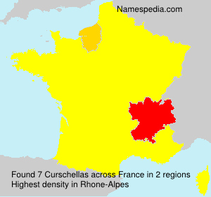 Surname Curschellas in France