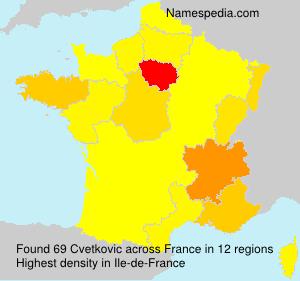Cvetkovic - France