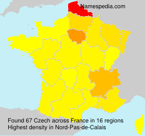 Surname Czech in France