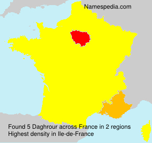 Surname Daghrour in France