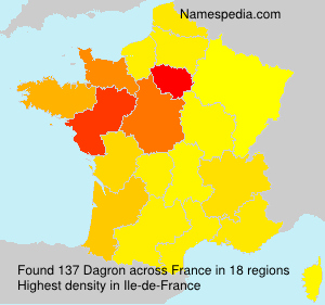 Surname Dagron in France