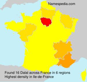 Surname Dalal in France