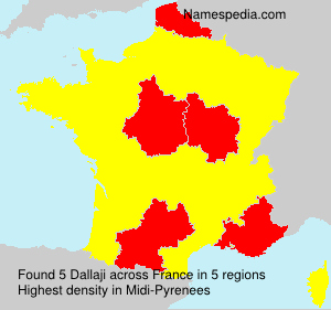 Surname Dallaji in France