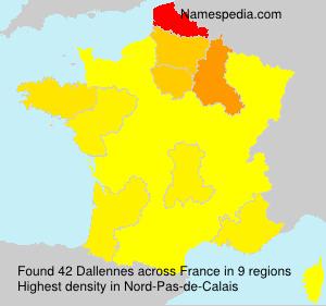 Dallennes