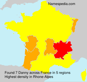 Surname Danny in France