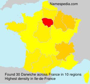 Surname Darwiche in France