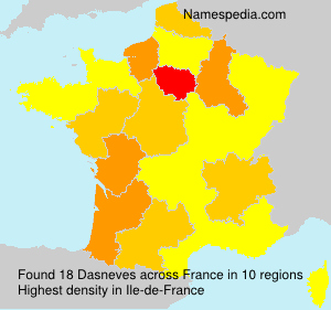 Surname Dasneves in France