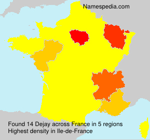 Surname Dejay in France
