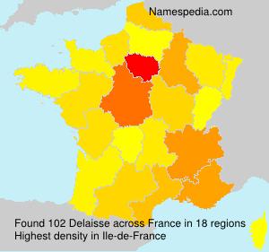 Surname Delaisse in France